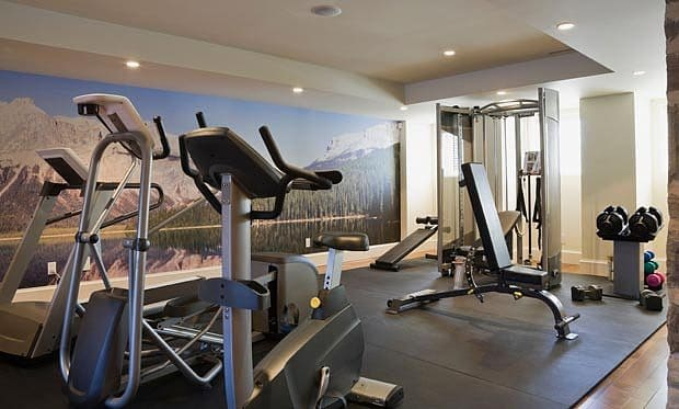 bulding a gym at home
