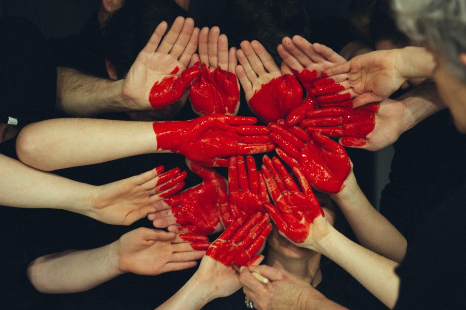 Put your hands together for heart health.