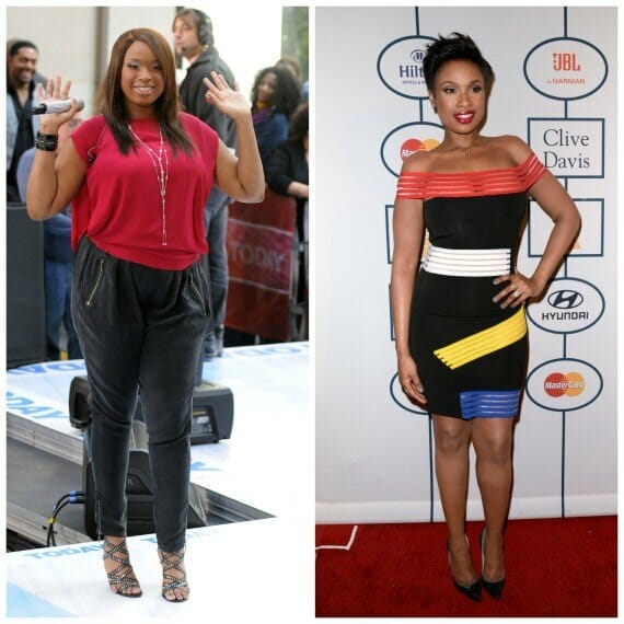 Jennifer Hudson pics - before and after weight loss