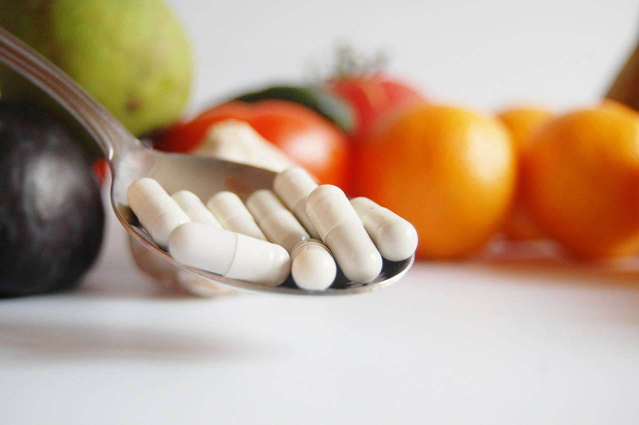Food is better, but supplements are better than nothing if you can't get them all through food.