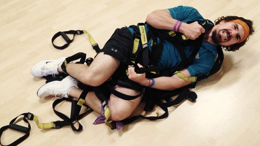 TRX suspension training mistake