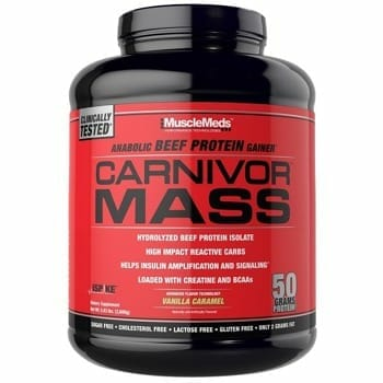 MuscleMeds Carnivore Mass Supplement