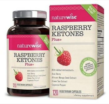 NatureWise Raspberry Ketones Plus+