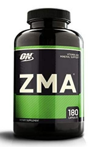 Optimum Nutrition ZMA Muscle Recovery and Endurance Supplement