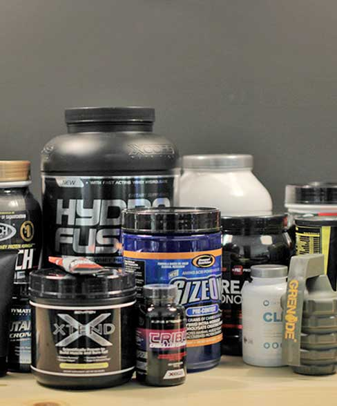 different products for body building