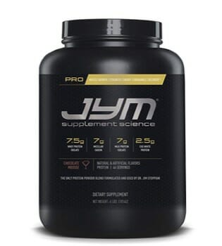 JYM with Whey supplement