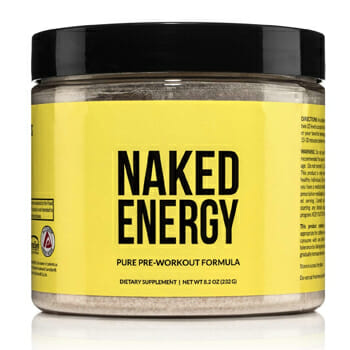 Naked Energy Natural Pre-Workout
