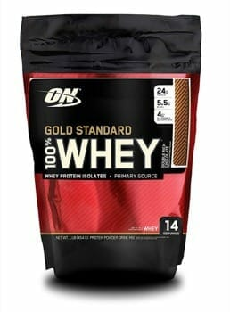 Optimum Nutrition Gold Standard Whey (Double Chocolate Flavor)