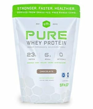 Pure Whey Protein Powder (Chocolate) by SFH