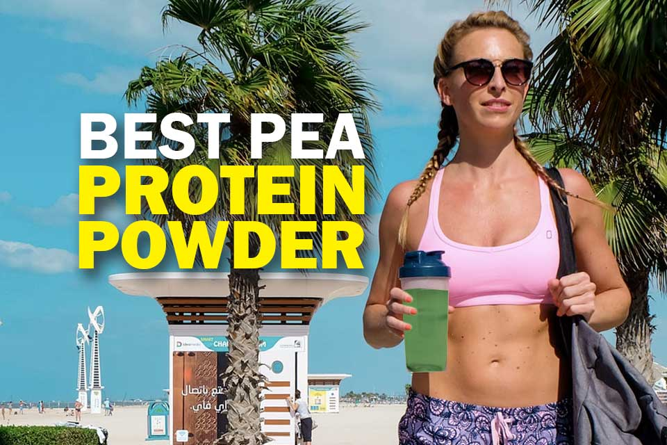 Best pea protein powder featured image
