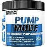 Evlution Nutrition Pump Mode Nitric Oxide Booster to Support Intense Pumps-150x150