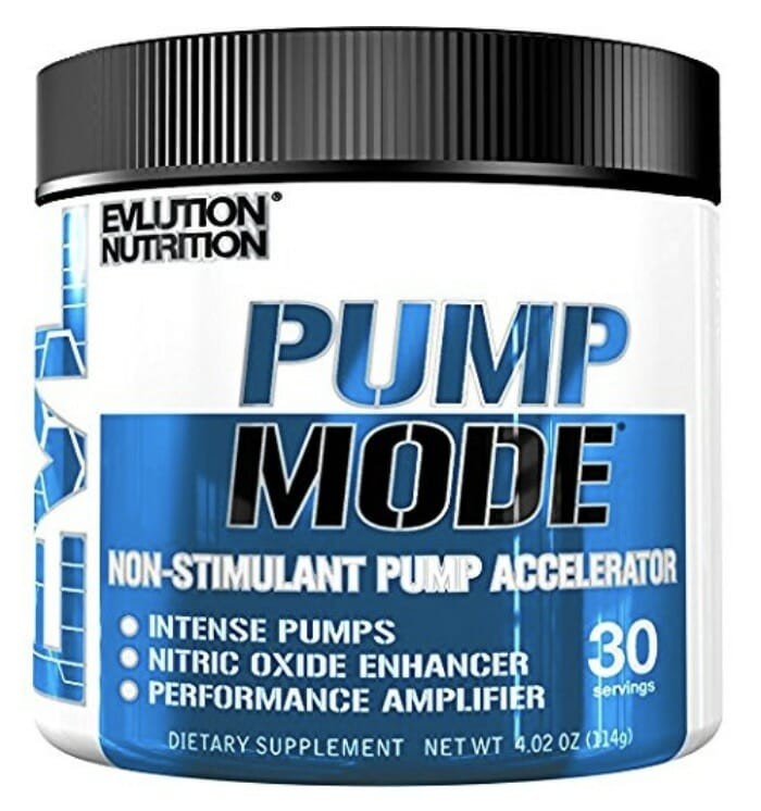 Evlution Nutrition Pump Mode