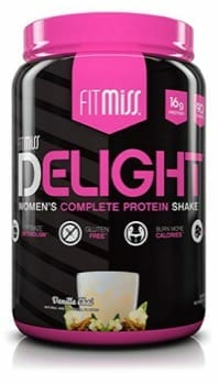 FitMiss Delight protein powder for women weight loss