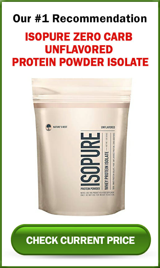 Isopure Zero Carb Unflavored Protein Powder Isolate-sidebar