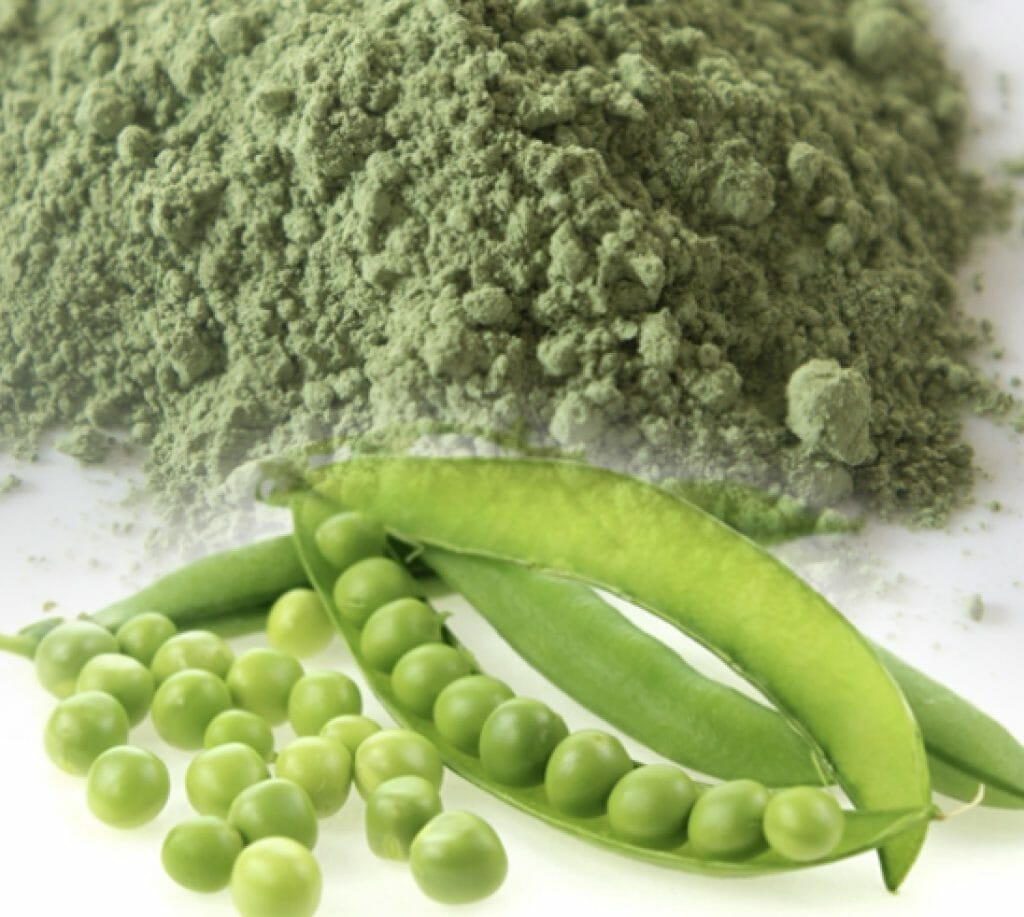 pea in powder form