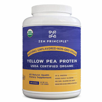 zen principle yellow pea