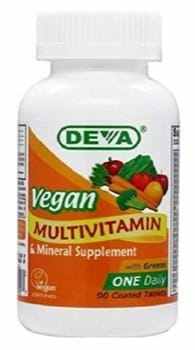 Deva Vegan Multivatamin- Contains Zero Animal Products
