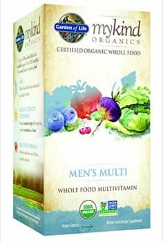 Garden of Life for Men - Vegan Vitamins