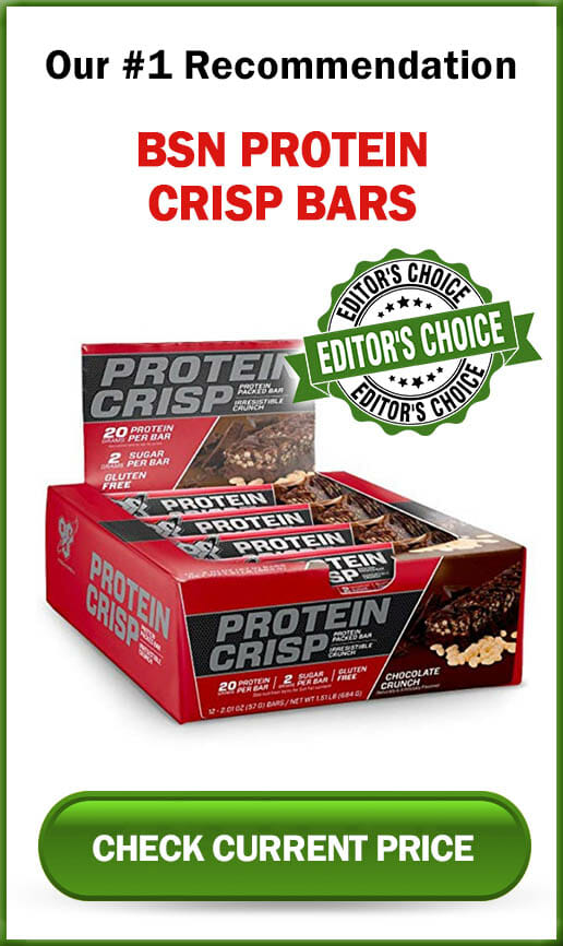 BSN Protein Crisp Bars Sidebar