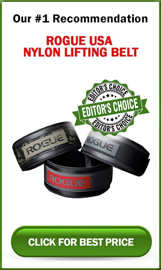 Rogue USA Nylon Lifting Belt Sidebar