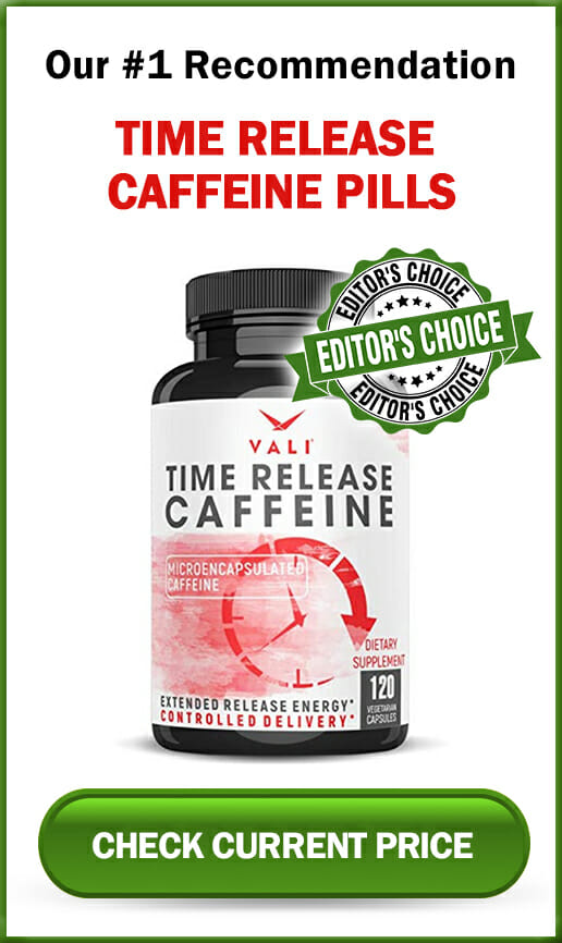 Time Release Caffeine Pills Sidebar Editors Choice