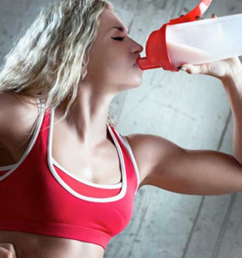 drinking supplement after workout