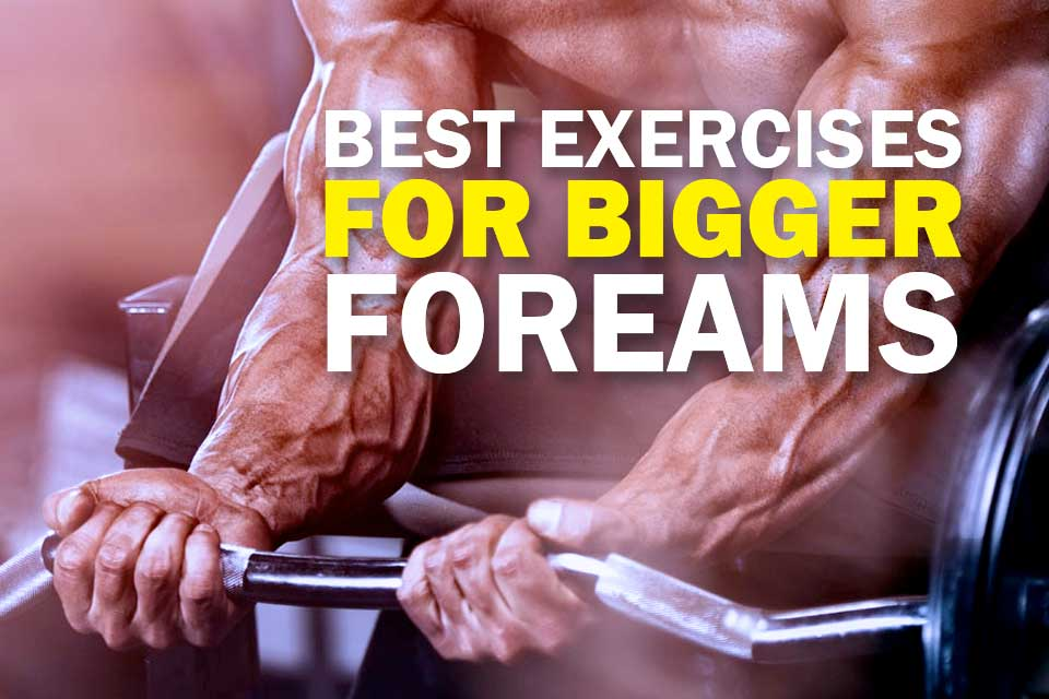 How to Get Bigger Forearms