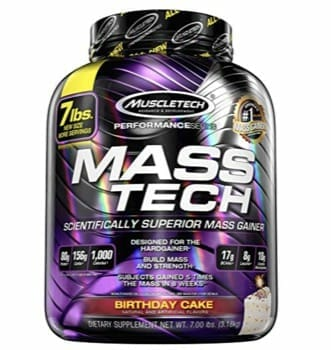 MuscleTech Mass Tech Pro Weight Gainer