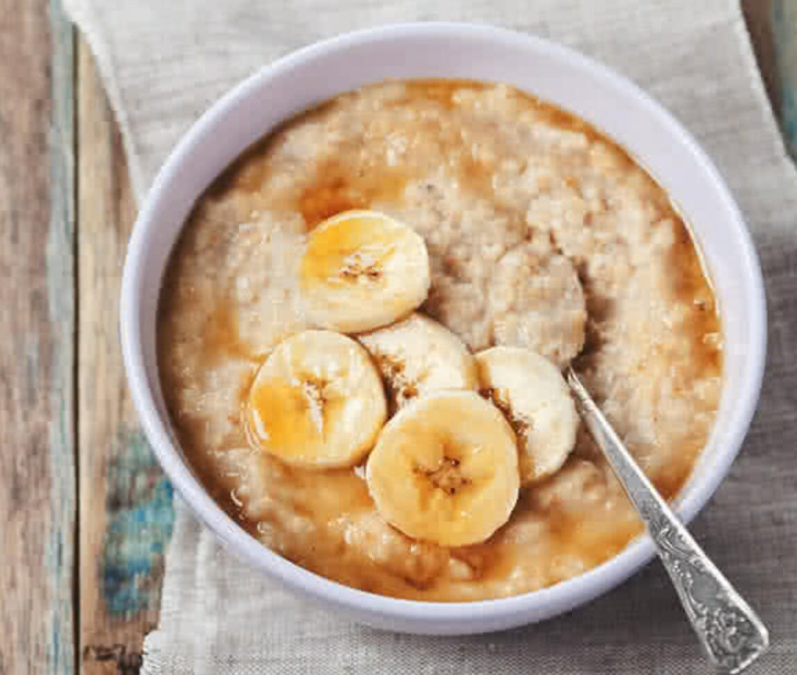 oats with banana