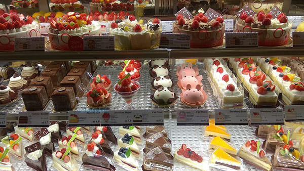 Assorted Pastry on Shelf