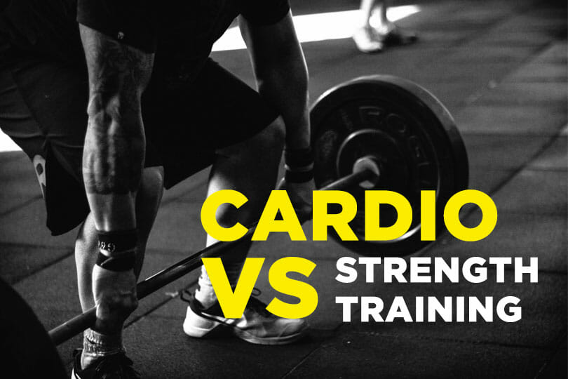 Cardio vs Strength Training Featured Image