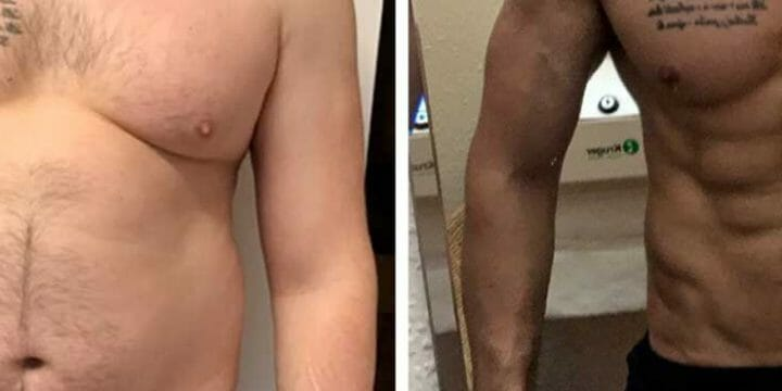 before and after weight-loss