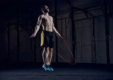 jumping rope routine