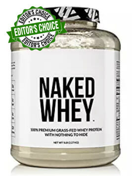 Naked Whey Packaging