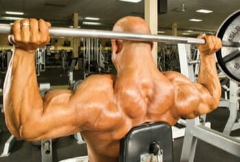 Behind The Neck Smith Machine Press - for Wider Shoulders