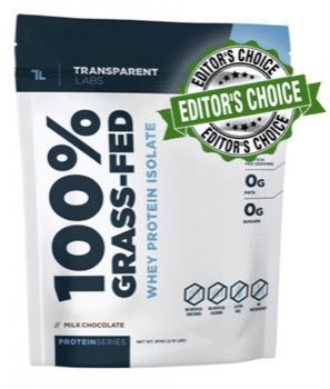 Transparent Labs Whey Protein Powder
