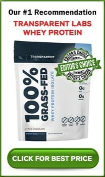 Transparent Labs Whey Protein sidebar