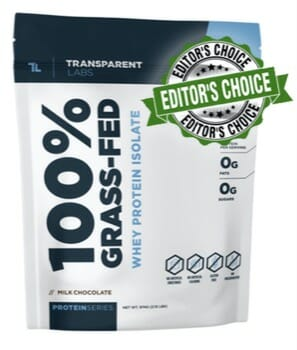 Transparent Labs Whey Protein - #1 Best Tasting Protein Powder