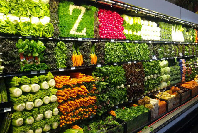 grocery filled with vegetables