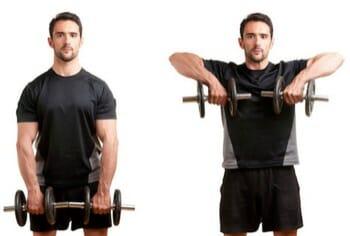 Upright Row - Upper Body