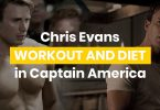 Chris Evans Workout And Diet In Captain America Featured Image