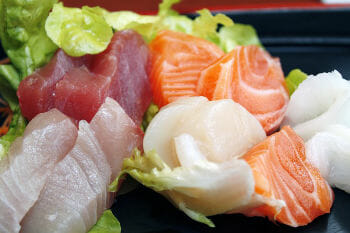raw fish - yellow food list