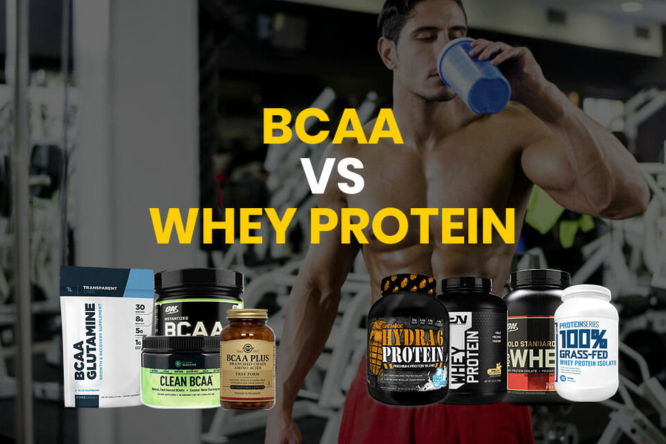 BCAA Vs Whey Protein Featured Image
