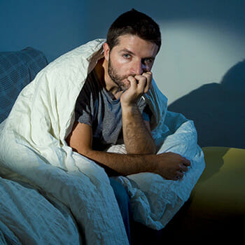 Man In Blanket