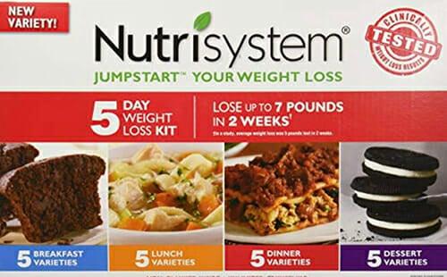 Nutrisystem Weight Loss Program