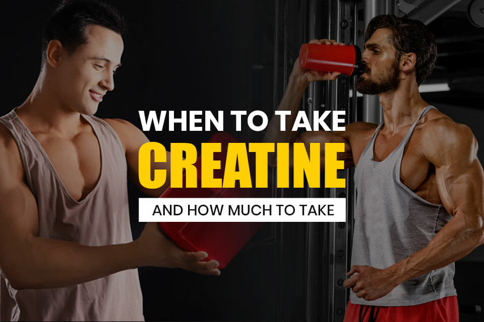 When To Take Creatine Featured Image