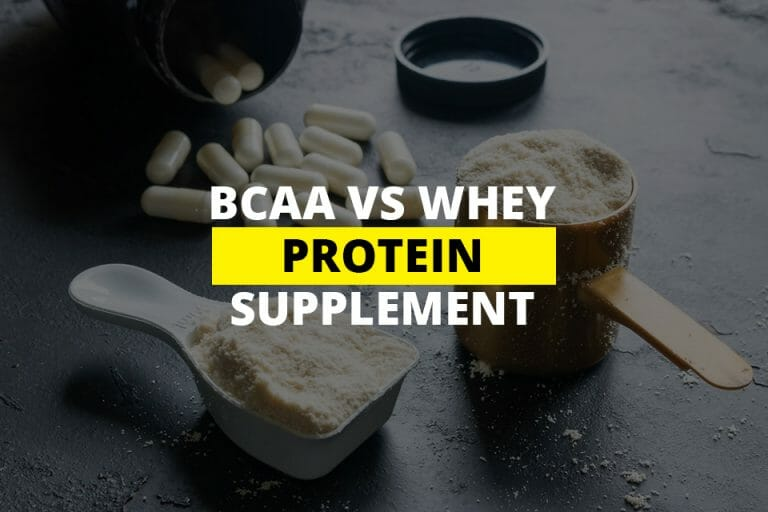 BCAA Vs Whey Protein Supplement Featured Image