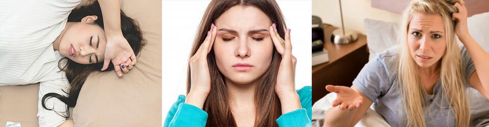 women having side effects