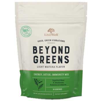 LiveWell Labs Beyond Greens Super Greens Powder