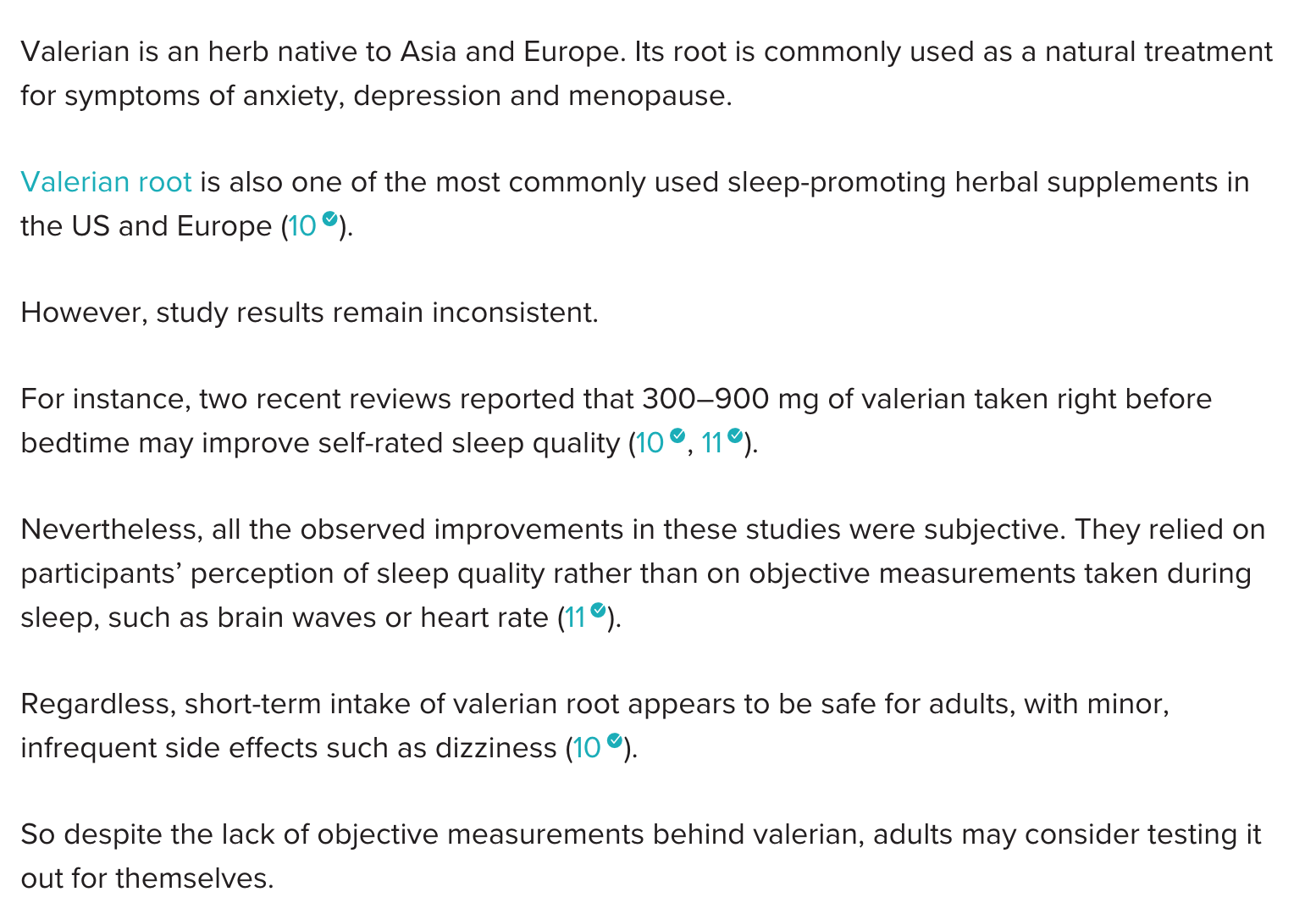 sleep supplements ingredients